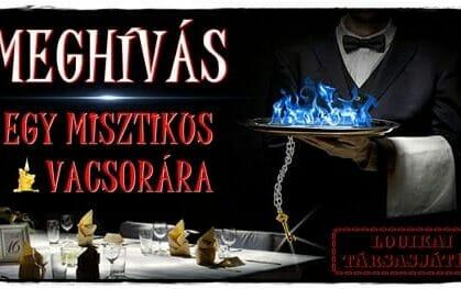 előnézet a szabadulószoba Meghívás egy misztikus vacsorára / Veszprém Balaton