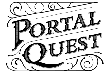 Logo: escape rooms PORTAL QUEST Budapest