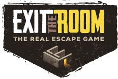 Logo: escape rooms Exit the Room Budapest