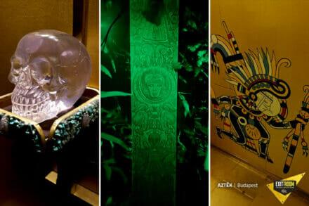 5. ábra a szabadulószoba Azték Budapest