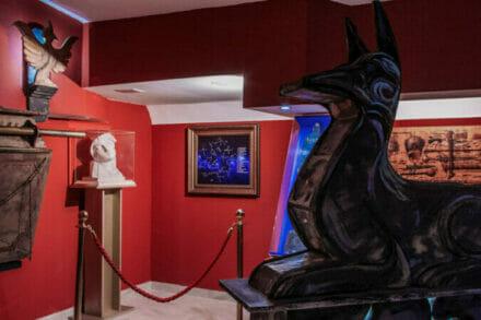 1. ábra a szabadulószoba Egyiptomi múzeum Budapest