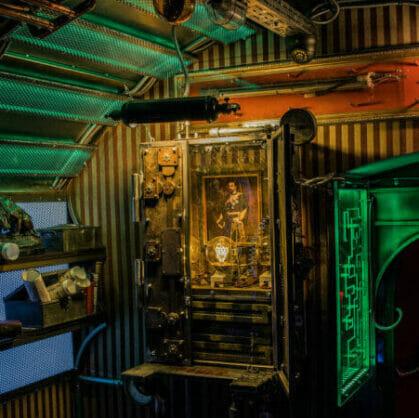 előnézet a szabadulószoba A Mélység Titka Budapest