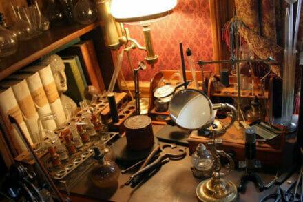 1. ábra a szabadulószoba Sherlock Holmes nyomában Budapest