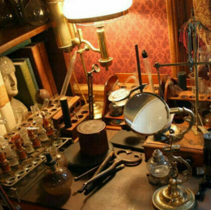 preview for escape room Sherlock Holmes trail Budapest