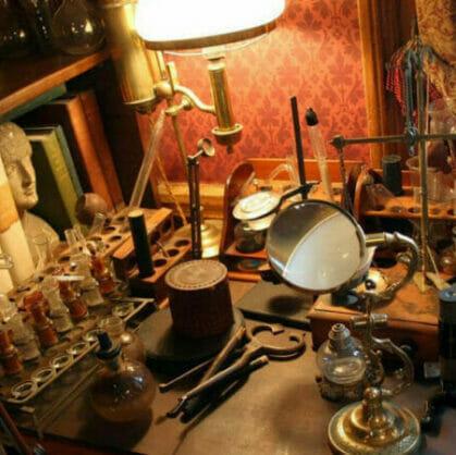 előnézet a szabadulószoba Sherlock Holmes nyomában Budapest