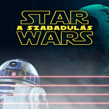 Előnézet a szabadulószoba Star Wars R2D2 kiszabadítása