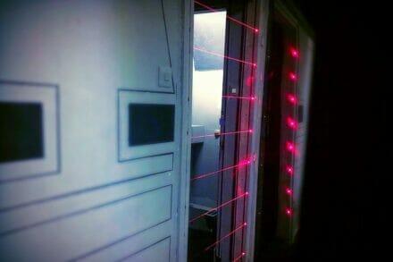 2. ábra a szabadulószoba Star Wars R2D2 kiszabadítása Budapest