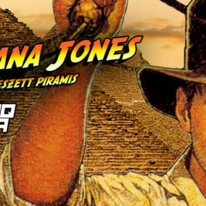 preview for escape room Indiana Jones and the Lost Pyramid Budapest