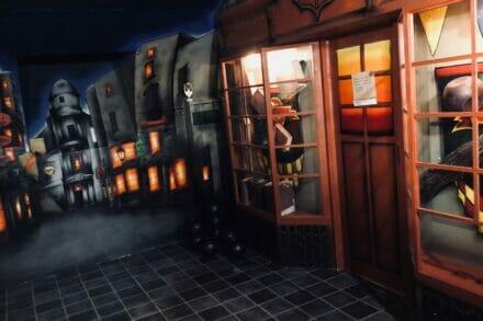 3. ábra a szabadulószoba A varázsló iskola Budapest