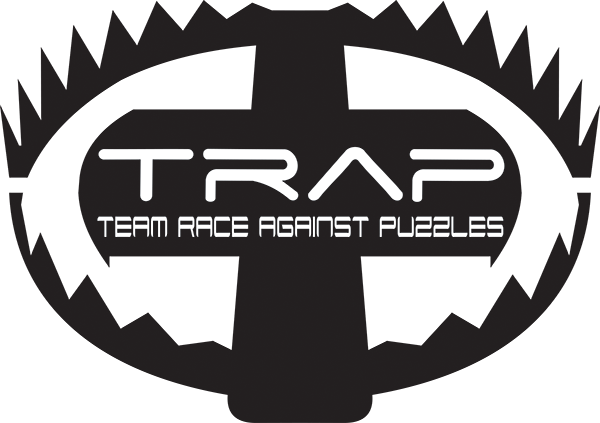 Logo: escape rooms TRAP Budapest