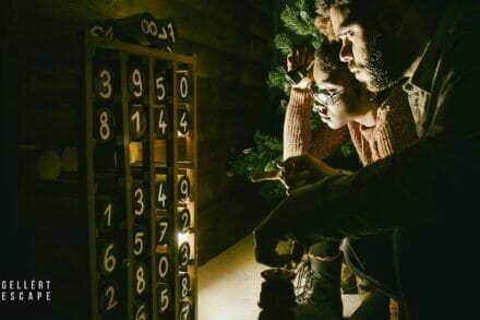 2. ábra a szabadulószoba 51-es síház Budapest