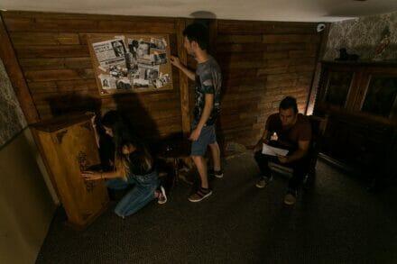 3. ábra a szabadulószoba Az Escobar Ház Budapest