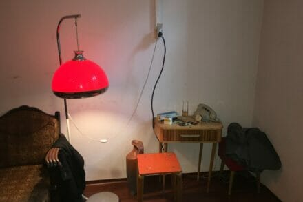 1. ábra a szabadulószoba Vörös szalon a szocialista nyomozójáték Budapest