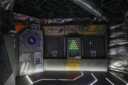 1. ábra a szabadulószoba A világűr mélyén Budapest