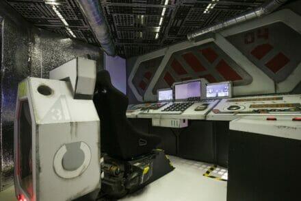 2. ábra a szabadulószoba A világűr mélyén Budapest