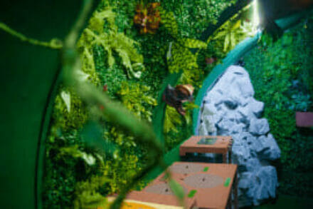 3. ábra a szabadulószoba Jurassic Escape Budapest