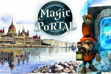 9. ábra a szabadulószoba Magic Portal Budapest