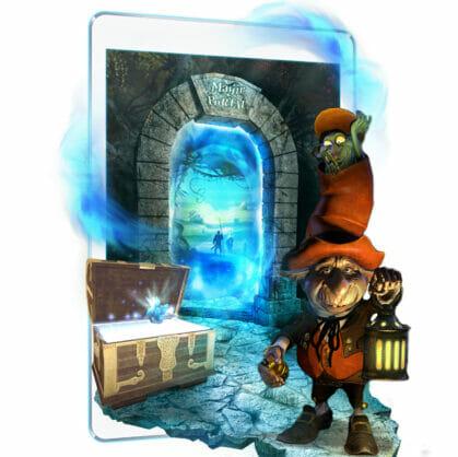 Előnézet a szabadulószoba Magic Portal