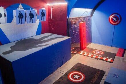 1. ábra a szabadulószoba Bosszúállók Budapest