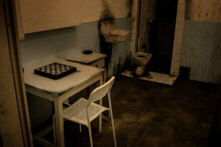 6. ábra a szabadulószoba Prison Budapest