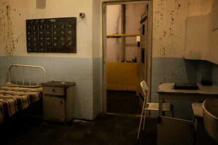 8. ábra a szabadulószoba Prison Budapest