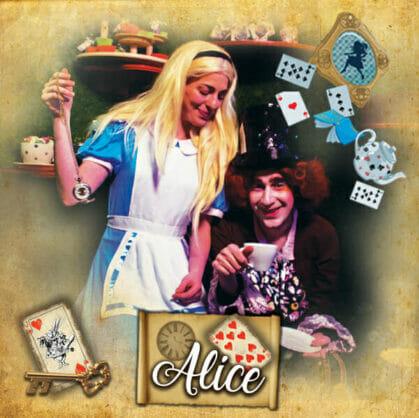 előnézet a szabadulószoba Alice Budapest