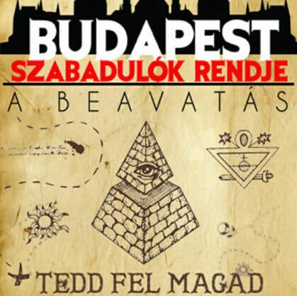 előnézet a szabadulószoba SZABADULÓK RENDJE: A BEAVATÁS Budapest