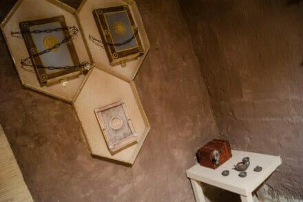1. ábra a szabadulószoba THANOS – A Végtelen Kövek nyomában Budapest