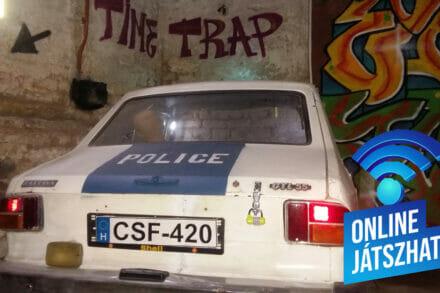 1. ábra a szabadulószoba CSI Budapest Budapest