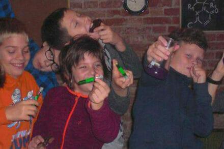 3. ábra a szabadulószoba LogIQrooms Születésnapi Zsúr Budapest