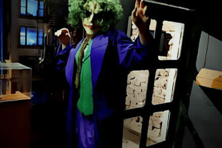4. ábra a szabadulószoba Joker városa, Horror szabadulószoba Budapest