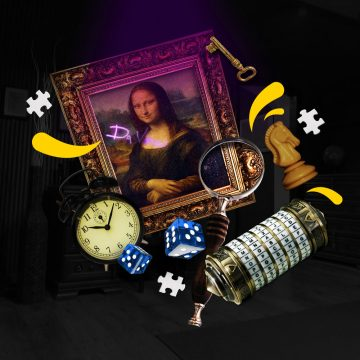 Előnézet a szabadulószoba Da Vinci Titkai